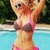 hot pink bikini