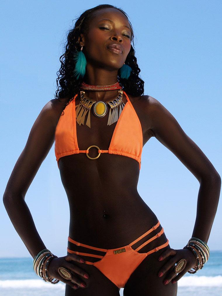 163308d0c44a2 Neon Orange Vixen Brazilian Bikini