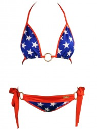 American Flag Bikini American flag bathing suit