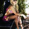 turquoise bikini
