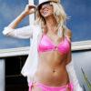 neon pink bikini