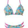 Pineapple bikini gingham bikini