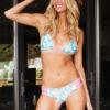 Pineapple bikini cose up