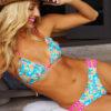 Pineapple bikini sit