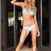 Pineapple bikini full body