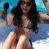 black crystal bikini