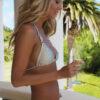 nude bikini champagne bikini