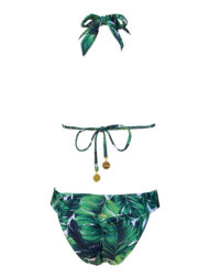 Beverly Hills Swimsuit, Palm Leaves one piece swimsuit